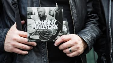 L'album posthume de Johnny Hallyday