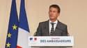 """Les chiffres du chômage en juillet """"vont dans le bon sens"""", a estimé Manuel Valls."""