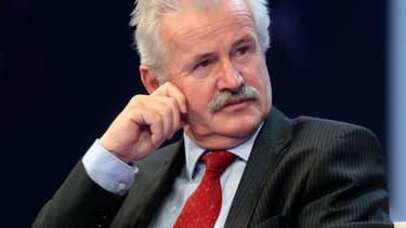 Jean-Marie Bernard, président LR du département des Hautes-Alpes.