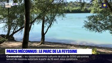 À la découverte du parc de la Feyssine à Villeurbanne