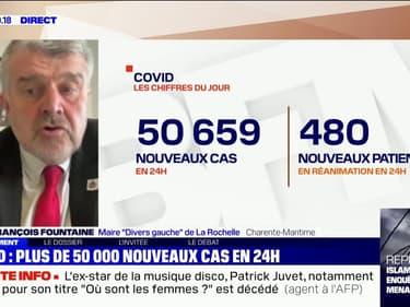 """Le maire de La Rochelle sur les restrictions: """"Même si les commerçants sont déçus, je soutiens ce type de décisions"""""""