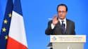 François Hollande à Tulle, le 7 janvier.