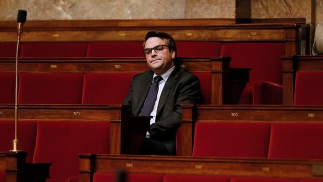 Thomas Thévenoud a effectué un retour discret à l'Assemblée après sa démission du gouvernement.