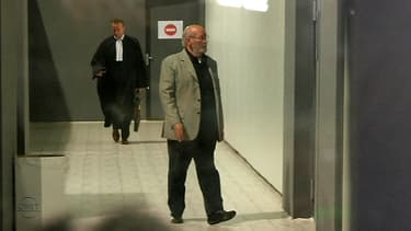 Jean-Claude Mas, le principal prévenu, à son arrivée à l'audience à Marseille mardi.