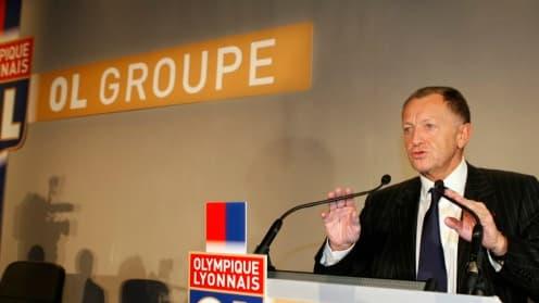 Jean-Michel Aulas compte prendre une nouvelle envergure lorsque que le Stade des lumières sera sorti de terre.