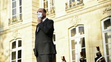 Le Premier ministre Jean Castex à Matignon le 8 décembre 2020