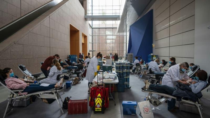 Covid-19: le musée d'art moderne de Strasbourg rouvre ses portes contre un don du sang