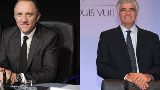 François-Henri Pinault (Kering), et Antonio Belloni (LVMH) ont fait d'importantes plus-values en exerçant leurs stock-options.