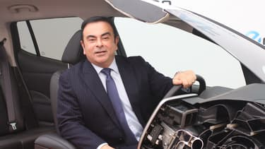 Carlos Ghosn est PDG de Renault depuis 2005.