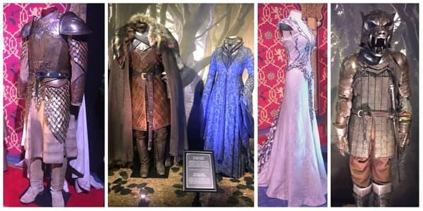 Des costumes de la série Game Of Thrones