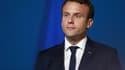 Emmanuel Macron en janvier 2017.