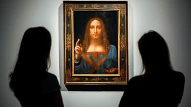 """Le """"Salvator Mundi"""" de Leonard de Vinci en 2017 vendu 450 millions de dollars cette année va être exposé au Louvre d'Abu Dhabi."""