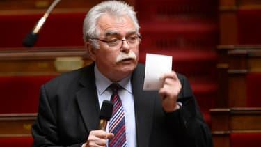 André Chassaigne, président du groupe communiste à l'Assemblée.