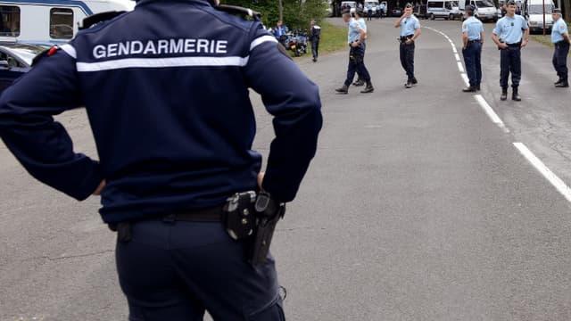 La gendarmerie a lancé un appel à témoins pour retrouver l'homme (photo d'illustration).