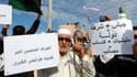 Des manifestants le 15 novembre à Tripoli.