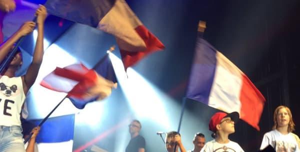Black M sur scène à Poitiers