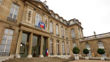 Le palais de l'Elysée à Paris. Quarante pour cent des Français souhaitent que l'ancien président Nicolas Sarkozy se représente à l'élection de 2017, et ils sont 38% à souhaiter que l'ex-Premier ministre François Fillon se lance dans la course à l'Elysée c