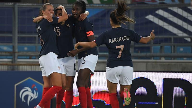 Les Bleues terminent la saison par une victoire convaincante sur l'Allemagne