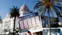 Un ticket d'Euromillions, le 14 novembre 2012 à Nice.