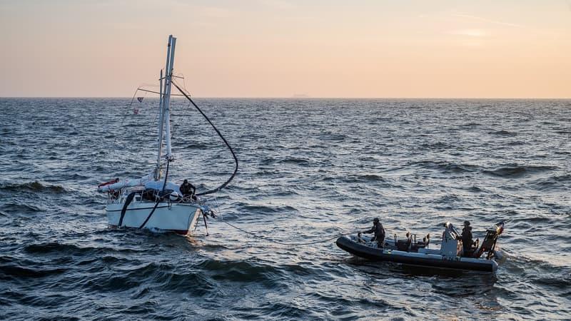 Boulogne-sur-Mer: deux personnes secourues après l'échouement de leur voilier