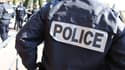 Des policiers rassemblés à Grasse en février 2012.