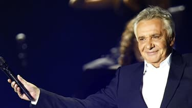 Michel Sardou en 2012.
