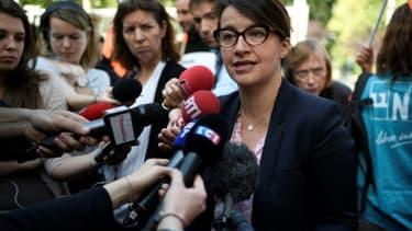 Cécile Duflot, député de la sixième circonscription de la capitale, à Paris, le 22 mai 2017