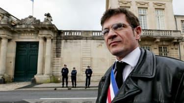 Benoist Apparu, député de la Marne (Les Républicains), le 16 octobre 2014 à Châlons-en-Champagne