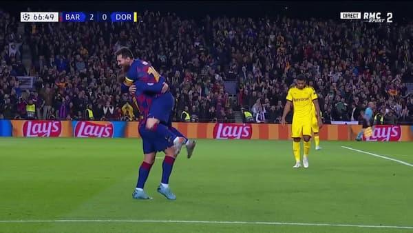 Griezmann et Messi