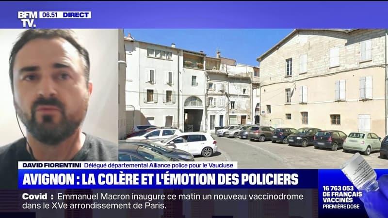 """Policier tué à Avignon: l'auteur """"a quasiment immédiatement fait feu"""", selon Alliance Police"""