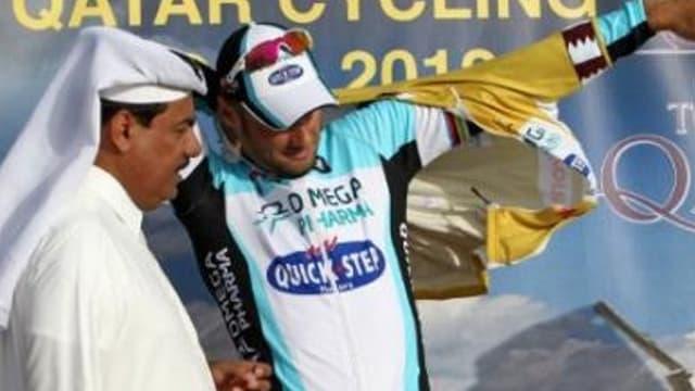 Boonen, vainqueur du Tour du Qatar en 2012