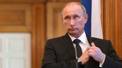 """Vladimir Poutine estime que """"la situation est sous contrôle""""."""