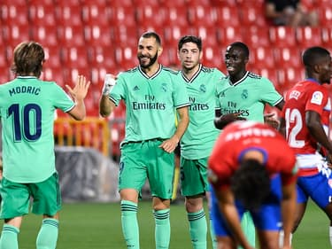 La joie de Karim Benzema