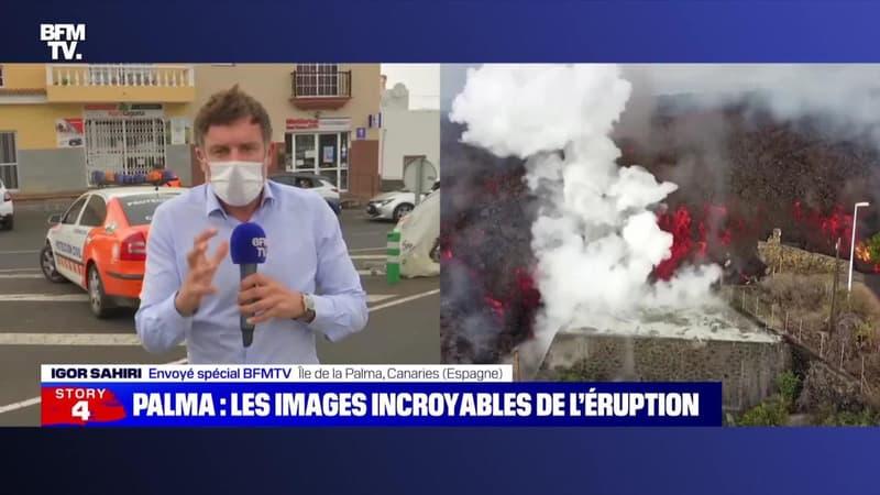 Story 2 : Éruption volcanique à La Palma, 6 000 personnes évacuées - 21/09