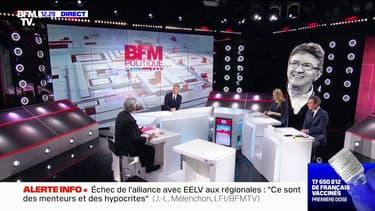 """Pour Jean-Luc Mélenchon, une candidature de Fabien Roussel à la présidentielle serait """"un crève-cœur"""""""