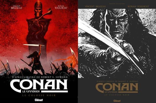 Couverture de Conan de Vincent Brugeas et Ronan Toulhoat