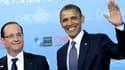 François Hollande et Barack Obama lors du sommet de l'Otan, le 20 mai 2012.