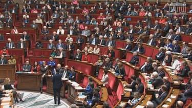 Les députés votent actuellement sur la confiance au gouvernement de Manuel Valls.