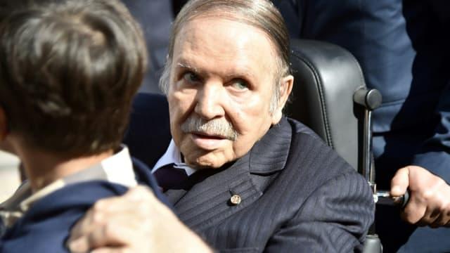 Le président algérien Abdelaziz Bouteflika à Alger, le 23 novembre 2017
