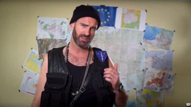 Johnny Hunter, le personnage anti-migrants imaginé par MSF et le collectif ET BIM