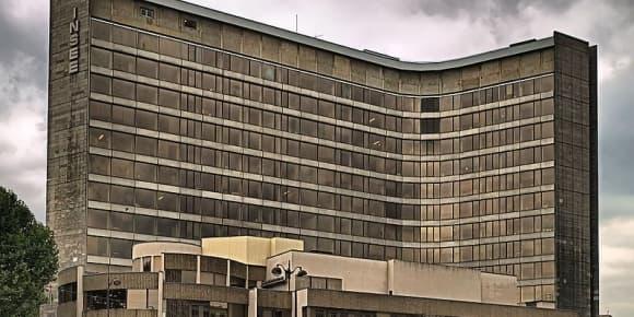 Le bâtiment de la direction générale de l'Insee, à Malakoff.