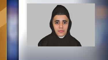 Le portrait-robot du suspect a été réalisé à partir de la description de la victime.