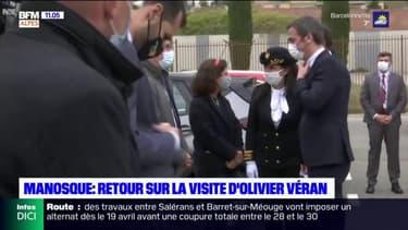 """""""Partout où il est passé, les doses ont augmenté"""": les élus locaux confiants après la visite d'Olivier Véran à Manosque"""
