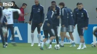 """Amoros : """"La Croatie convient le mieux à l'équipe de France"""""""