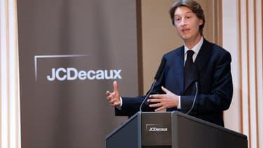 Jean-Charles Decaux, le co-directeur général du groupe éponyme