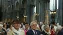 De nombreux fidèles catholiques et musulmans ont rendu hommage au Père Hamel lors d'une messe dans la cathédrale de Rouen ce dimanche.
