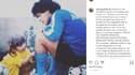 Le message de Dalma Maradona, l'une des filles de Diego
