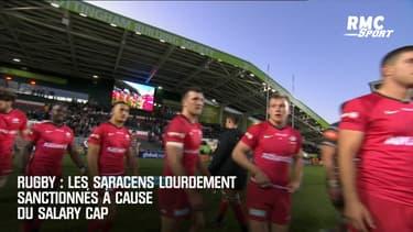 Rugby : Les Saracens lourdement sanctionnés à cause du salary cap