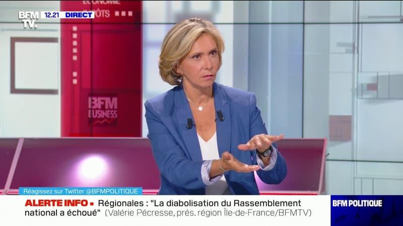 """Valérie Pécresse: """"Si je suis réélue, la dette Covid (des entreprises) sera annulée"""""""