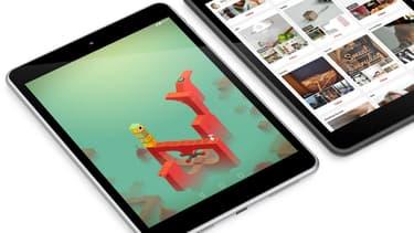 Le Nokia N1 reprend, en matière de design, les lignes de l'iPad d'Apple.